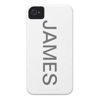 Iphone 4 named case (JAMES)