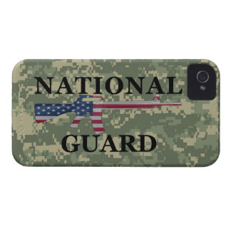 iPhone 4 National Guard Green Camo iPhone 4 Cases