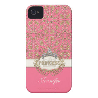 IPhone 4 Princess Jewel Bling Crown Personalized iPhone 4 Case-Mate Cases