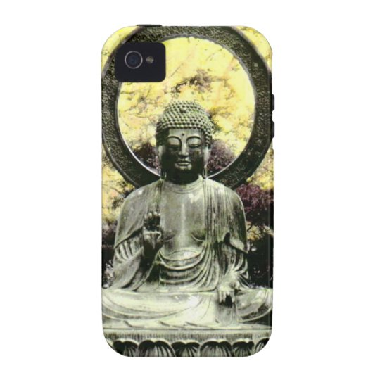 iPhone 4 - Zen Buddha - Hand Coloured Photography Case-Mate iPhone 4 Covers
