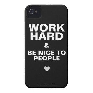 iPhone 4s Case Motivational: Black