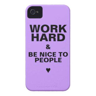iPhone 4s Case Motivational: Purple