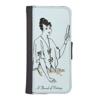 iPhone 5/5s and others beautiful lady phone wallet
