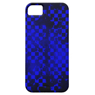 Iphone 5/5S Blue Checker Barely There iPhone 5 Case