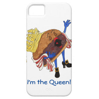 iPhone 5/5S 'Burger Bernice' Case