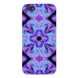 iPhone 5/5s Case Blue and Purple Pattern