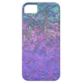 iPhone 5/5s Case Sparkley Grunge Floral Relief