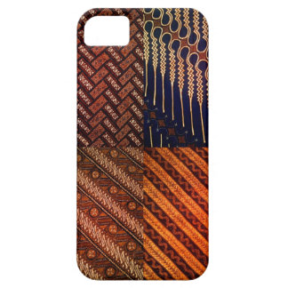 iphone 5/5s case with unique batik pattern#101