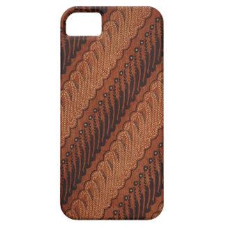 iphone 5/5s case with unique batik pattern#21