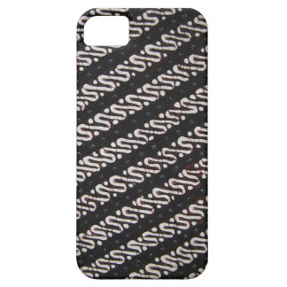 iphone 5/5s case with unique batik pattern#35