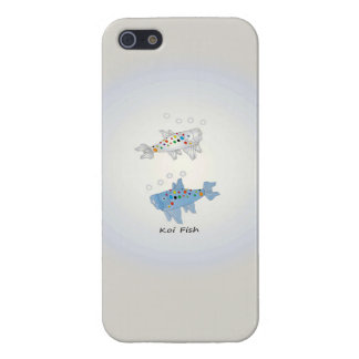 iPhone 5/5S Glossy Finish Case With Koi Fish iPhone 5/5S Cases