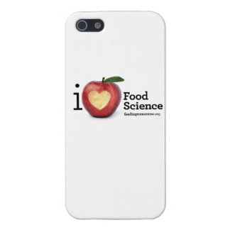"iPhone 5/5S ""I Heart Food Science"" Phone Case"