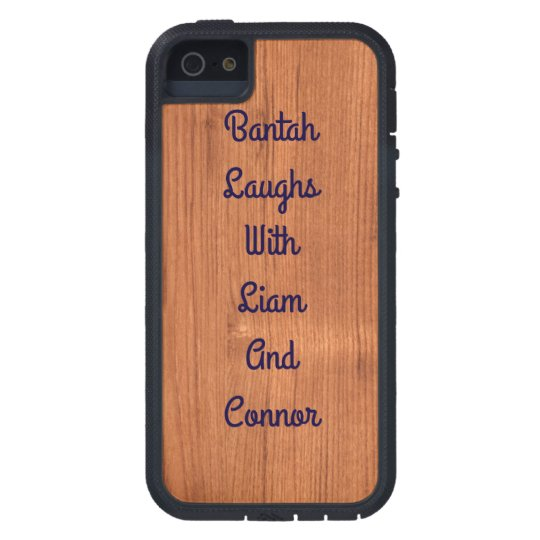 iPhone 5/5s Oak Wood Case Design
