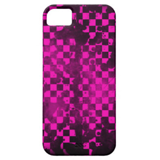 Iphone 5/5S Pink Checker iPhone 5/5S Covers