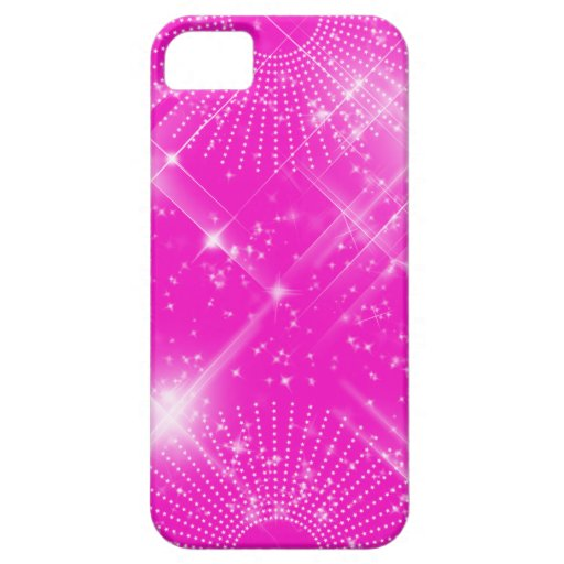 Iphone 5/5S Pink Sparkle iPhone 5 Cases