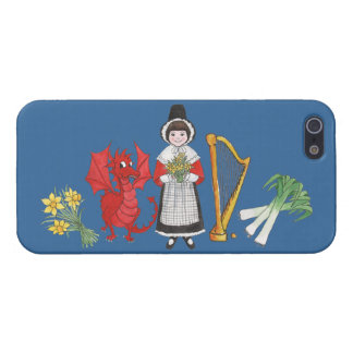 iPhone 5/5s Savvy Case, Welsh Emblems iPhone 5 Case