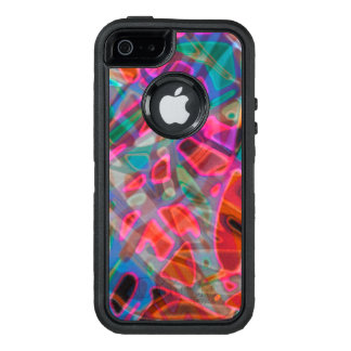 iPhone 5/5s/SE Case Colorful Stained Glass
