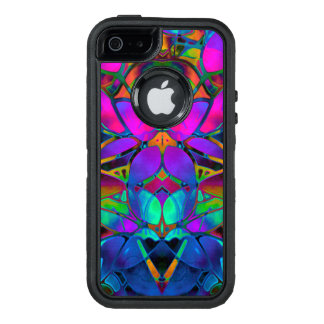 iPhone 5/5s/SE Case Floral Fractal Art