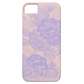 Iphone 5/5S Soft Blue Floral iPhone 5 Covers