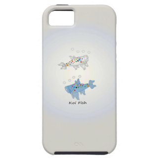 iPhone 5/5S, Tough With Opal Koi Fish iPhone 5 Covers