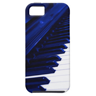 iPhone 5/5s Vibe Case (Blue Piano)