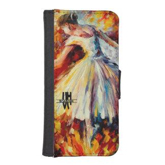 iPhone 5/5s Wallet Case by VonHolm Design -Dance