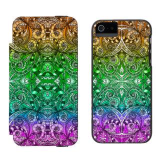 iPhone 5/5s Wallet Case Drawing Floral Incipio Watson™ iPhone 5 Wallet Case