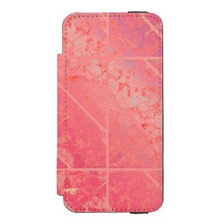 iPhone 5/5s Wallet Case Pink Marble Texture Incipio Watson™ iPhone 5 Wallet Case
