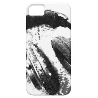 iPhone 5 Barely There Case Distressed Headphones