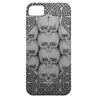 iphone 5 barley there case skull and celtic design