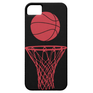 iPhone 5 Basketball Silhouette Bulls Black iPhone 5 Cases
