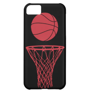 iPhone 5 Basketball Silhouette Bulls Black iPhone 5C Case