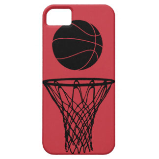 iPhone 5 Basketball Silhouette Bulls Red iPhone 5 Case