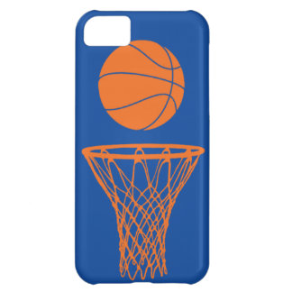 iPhone 5 Basketball Silhouette Knicks Blue iPhone 5C Case