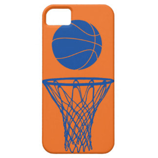 iPhone 5 Basketball Silhouette Knicks Orange Barely There iPhone 5 Case