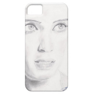 IPhone 5 Black/White Woman's Face iPhone 5 Cases