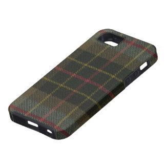 iPhone 5 Brodie Hunting Weathered Tartan iPhone 5 Case
