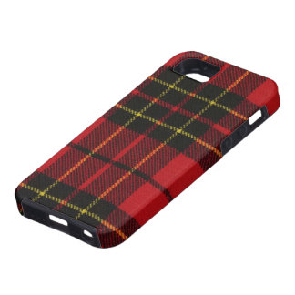 iPhone 5 Brodie Red Modern Tartan Print Case