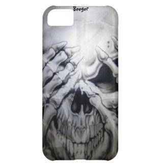 Iphone 5 bt - Peek-a-BOO Skull iPhone 5C Covers