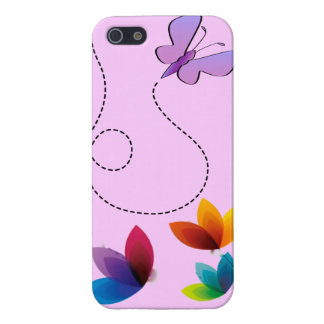 IPhone 5 butterfly and flowers case iPhone 5/5S Covers