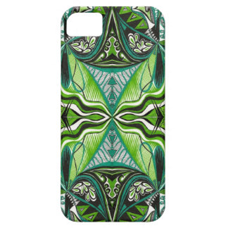 Iphone 5 case African Green by Yezarck