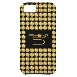 iPhone 5 Case Amber Jewel Effect