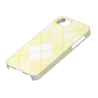 iPhone 5 Case - Argyle Squares - Sunshine