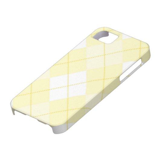 iPhone 5 Case - Argyle Squares - Sunshine