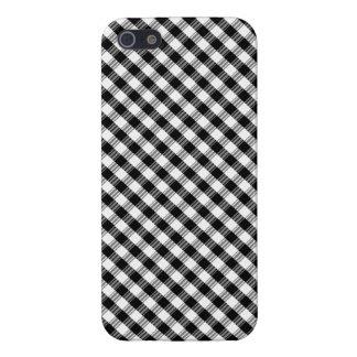"iPhone 5 Case  ""Black&White"" Squared Var01"