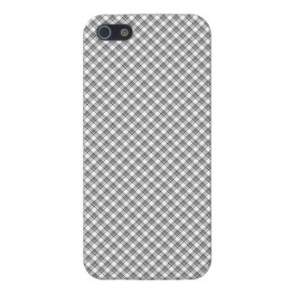 "iPhone 5 Case  ""Black&White"" Squared Var02a"