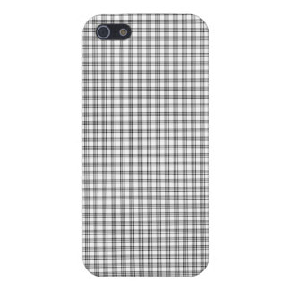 "iPhone 5 Case  ""Black&White"" Squared Var02b"