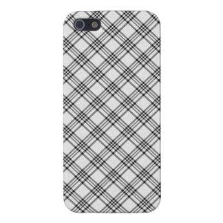 """iPhone 5 Case  """"Black&White"""" Squared Var02c"""