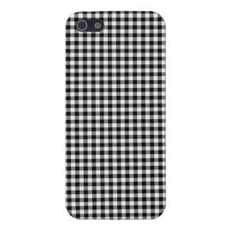 """iPhone 5 Case  """"Black&White"""" Squared Var03c"""