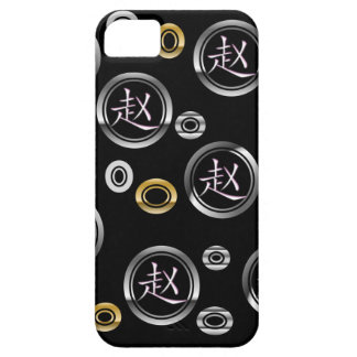 Iphone 5 Case - Chinese Surname Zhao